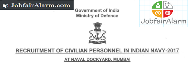 Indian Nevy Recruitment 2017 apply online for the post of 384 civilians post in indian nevy join indian nevy