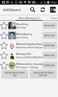 Cara Mengetahui Unfollowers Instagram Akun Kita Menggunakan Unfollowers For Instagram