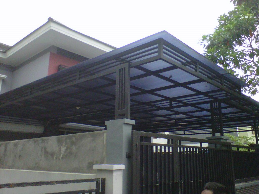 Model Kanopi Minimalis Bengkel Las Sragen Jawa Tengah