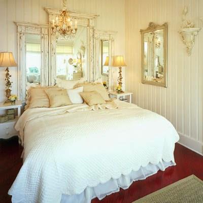 Decoraci n de dormitorio estilo shabby chic dormitorios - Rinnovare camera da letto ...