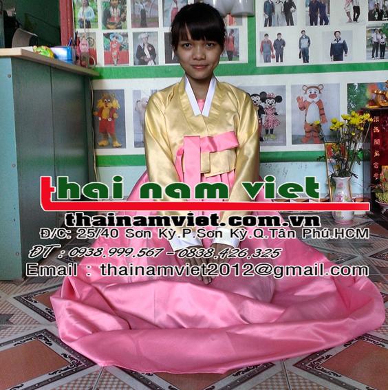 May bán cho thuê trang phục hanbok kimono tại tphcm