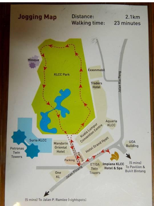map to impiana klcc