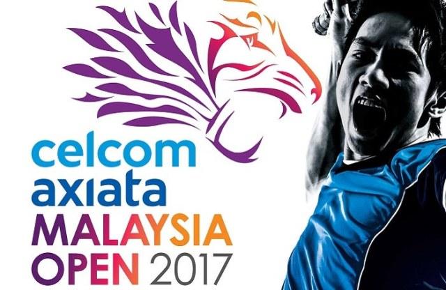 Separuh Akhir Badminton Celcom Axiata Terbuka Malaysia 2017
