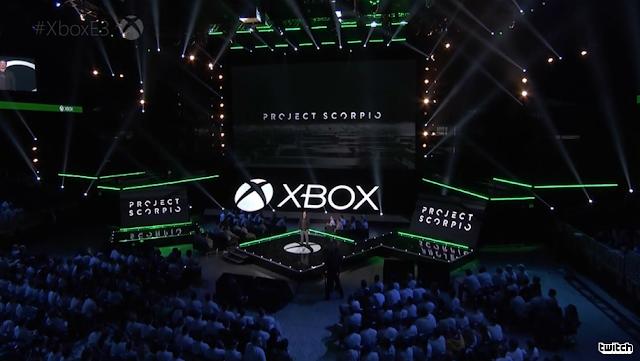 Project Scorpio Microsoft E3 2016 reveal