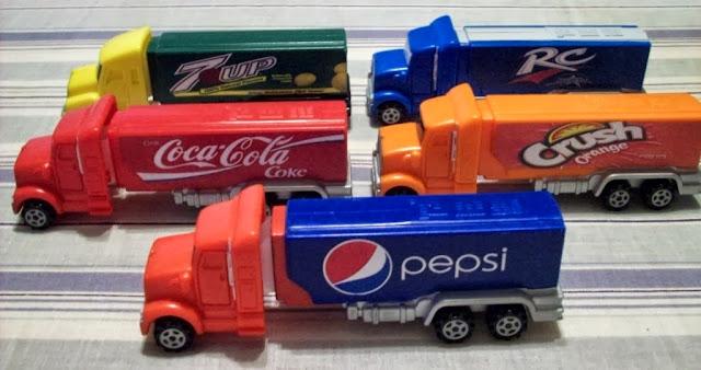 Rc Cola And Peanuts: ÜberPez: Fantasy Advertising Trucks