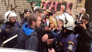 «Άντε γελοίοι» φώναζε αστυνομικός σε διαδηλωτές (Βίντεο)