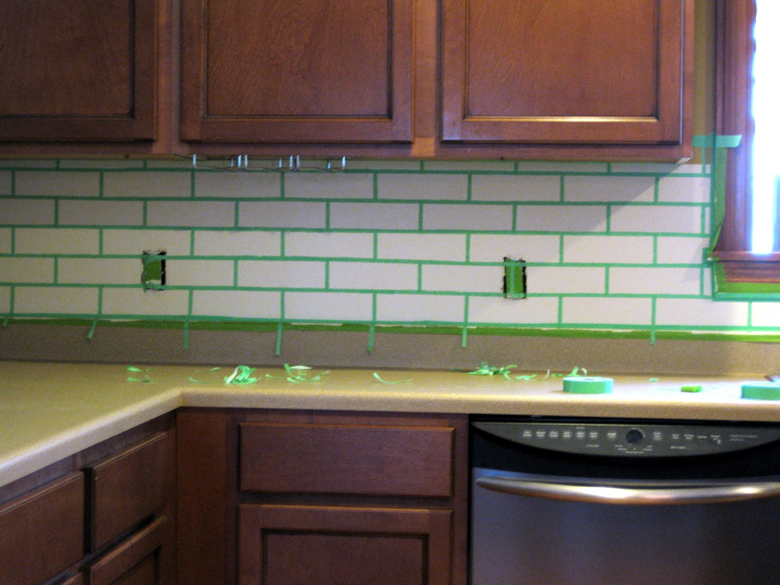 Brick Backsplash In Kitchen Mixer Christal 39s Reality Daydream