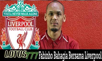 Fabinho Bahagia Bersama Liverpool