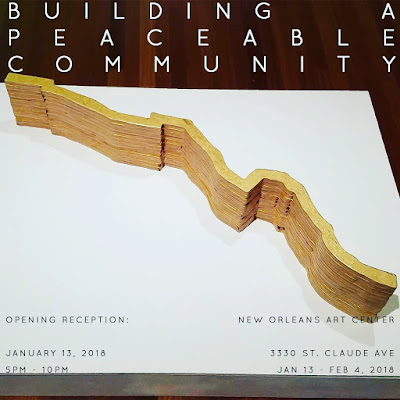 Barnitz Art: Building a Peaceful Community International Juried Exhibition, New Orleans Art Center (January 2018)