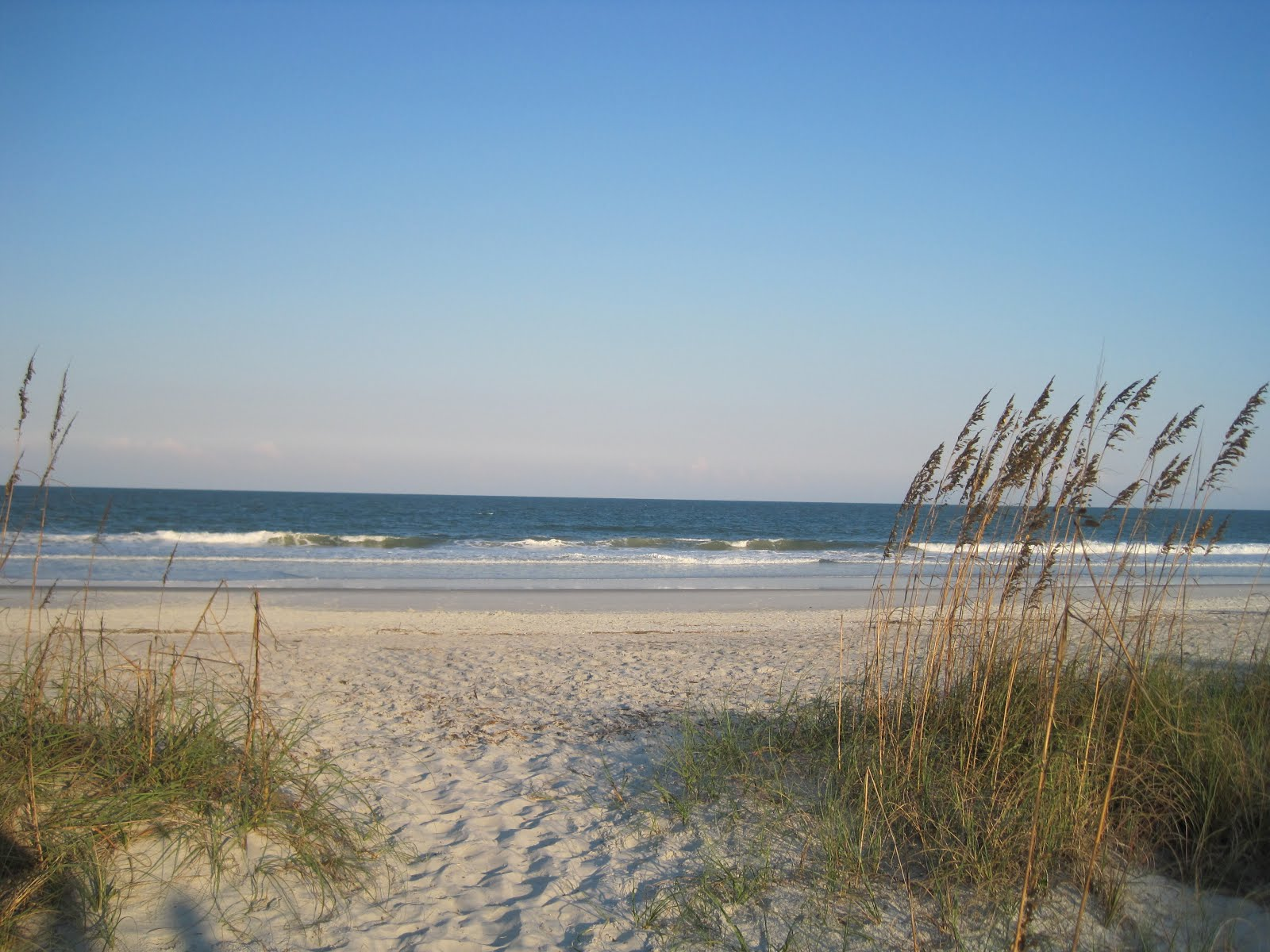 Main Beach on Amelia Island, Florida