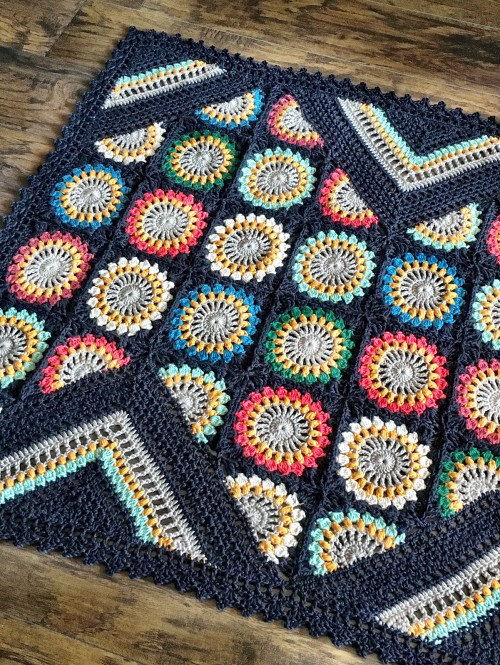 Wildflower Blanket - Crochet Pattern