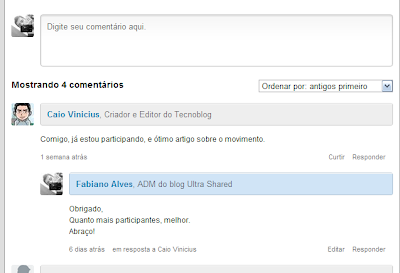 Disqus no Ultra Shared