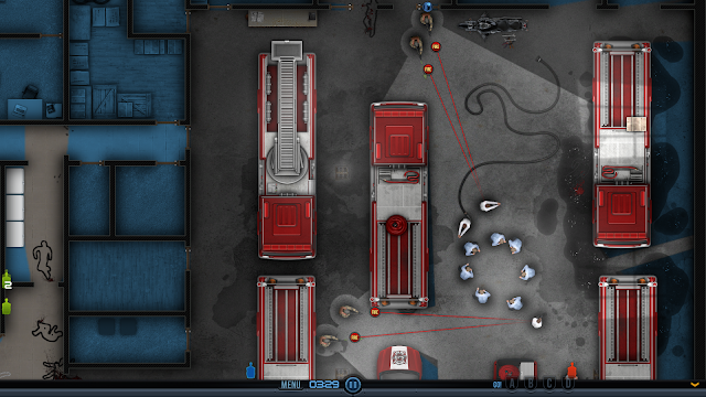Screenshot from Door Kickers