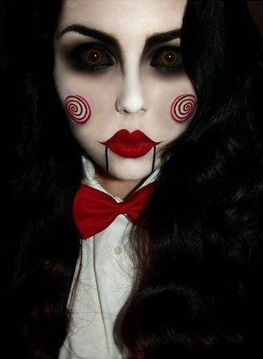 maquilhagem halloween jigsaw
