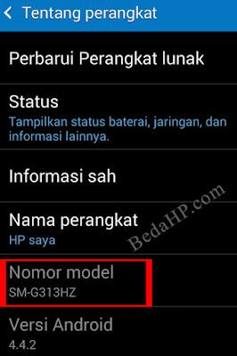 Cara Melihat Tipe HP Samsung Asli 2