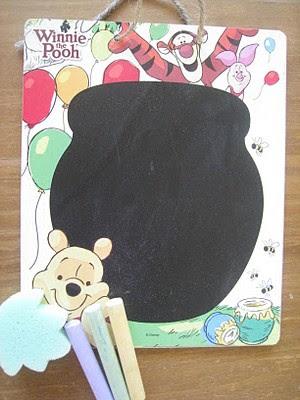 chalk board busy bag