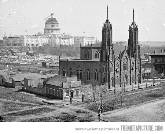 washington dc ca. 1863