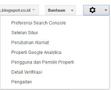 Daftar Tab Menu Google Search Console Dan Quick Link Menuju Artikel Penjelasannya