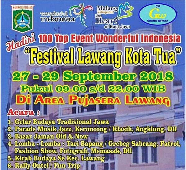 Nikmati Kopi Bersama Nuansa Tempoe Doloe Festival Kota Tua Malang 2018
