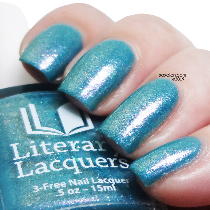 xoxoJen's swatch of Literary Lacquers Strange Bedfellows