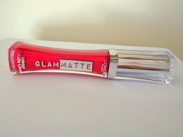 L'Oreal Glam Matte Intense Matte Gloss in Cherry Crop Review