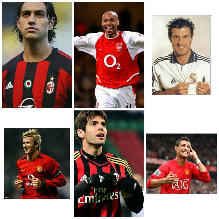 10 Pemain Sepak Bola Ikon Klub Yang Pindah Klub Lain