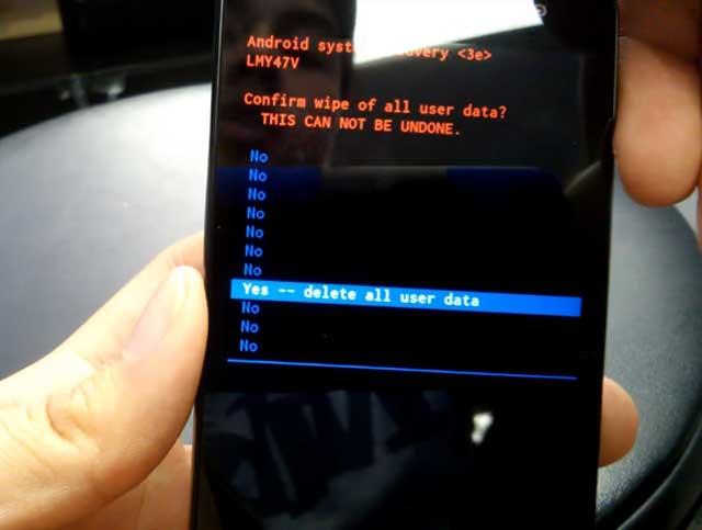 resetear móvil lg tribute 2 ls665