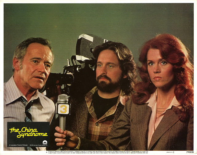 Jack Lemmon, Michael Douglas and Jane Fonda in The China Syndrome (1979)