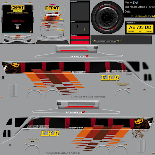 Download Livery Bus Eka