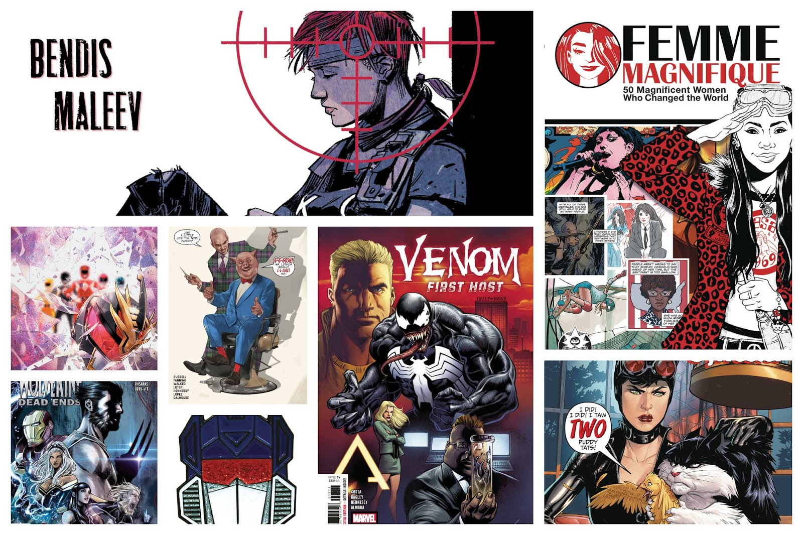 New Comics For Wednesday 29th of August