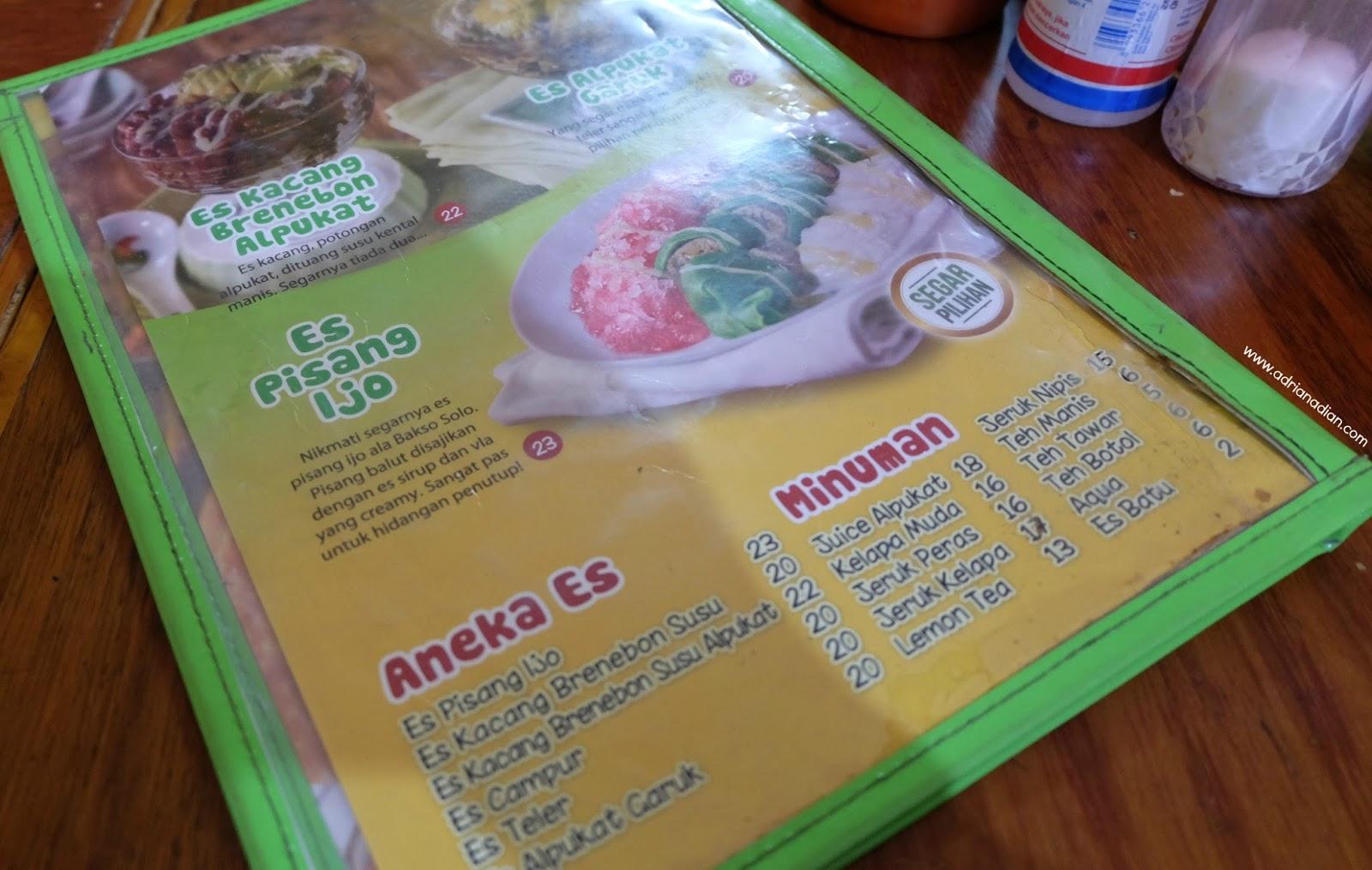 Review Kuliner Bakso Enak Jakarta