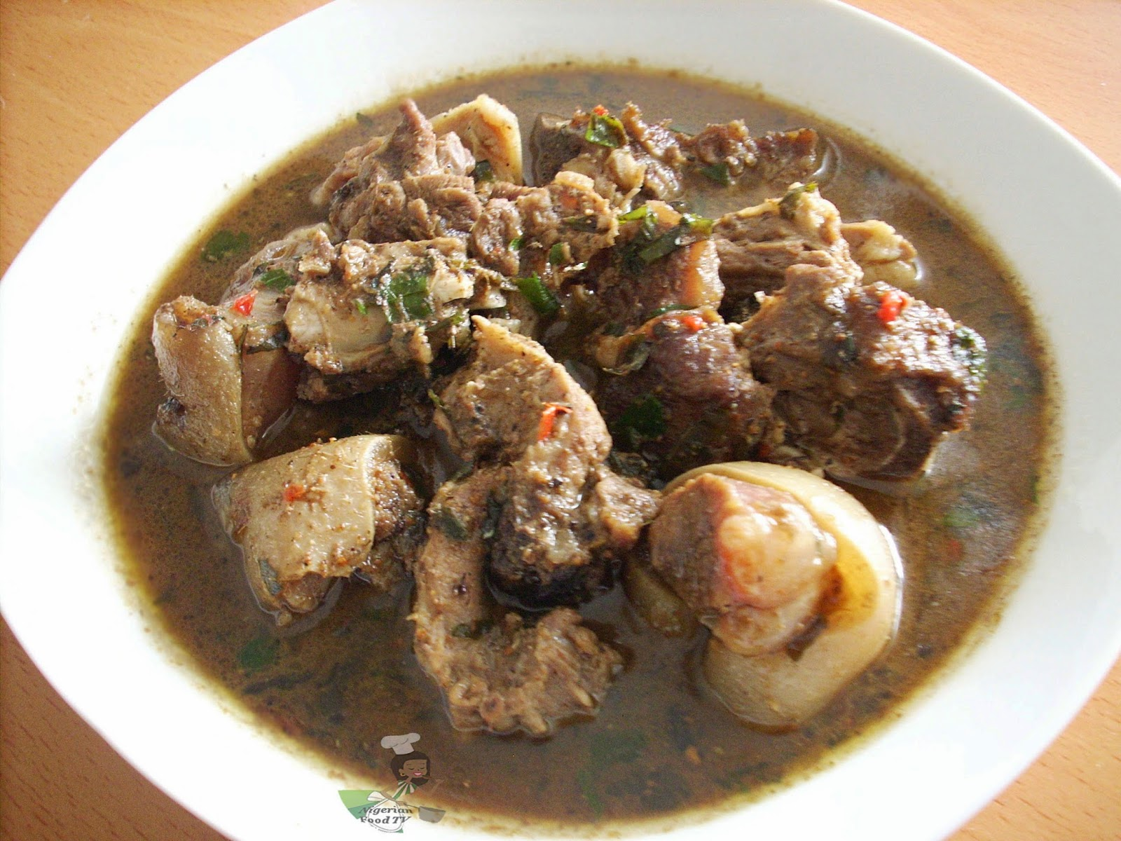 Nigerian Goat Meat Pepper Soup | Nigerian Food TV