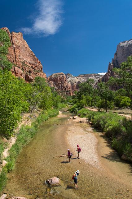 Zion River, Zion National Park