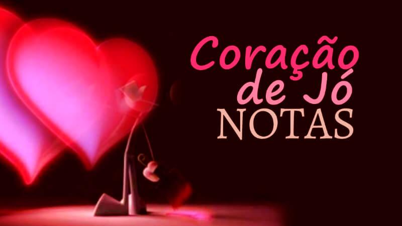 Coração de Jó - Anderson Freire - Notas melódicas