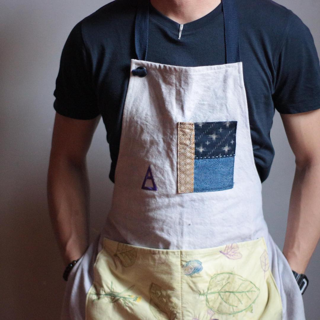 Hapazome Aprons - A Collaboration with Native