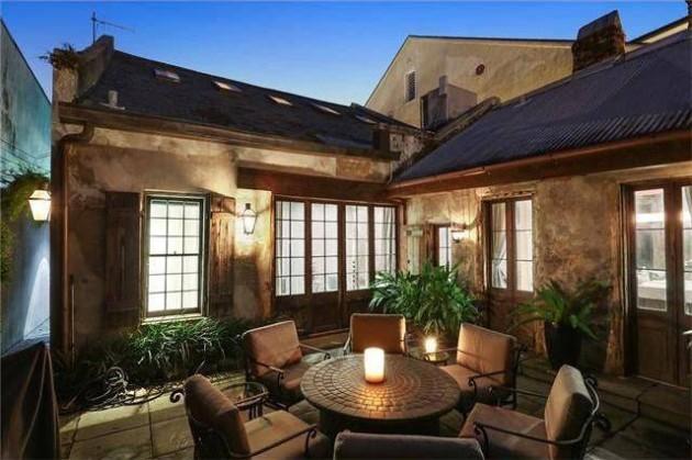 a casa incrivel de Lenny Kravitz 20 - As aparências enganam. Esta casa impressiona pelo seu interior.