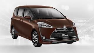 Harga Toyota Sienta di Pontianak Warna Dark Brown Mica Metallic