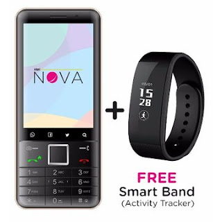 Free data and Smartwatch when you buy ntel Nova from Konga