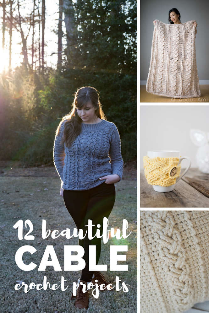 Beautiful Crochet Cable Projects
