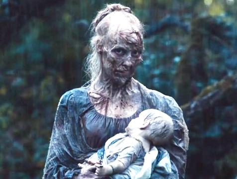 La madre zombi en Orgullo y prejuicio y zombis - Cine de Escritor