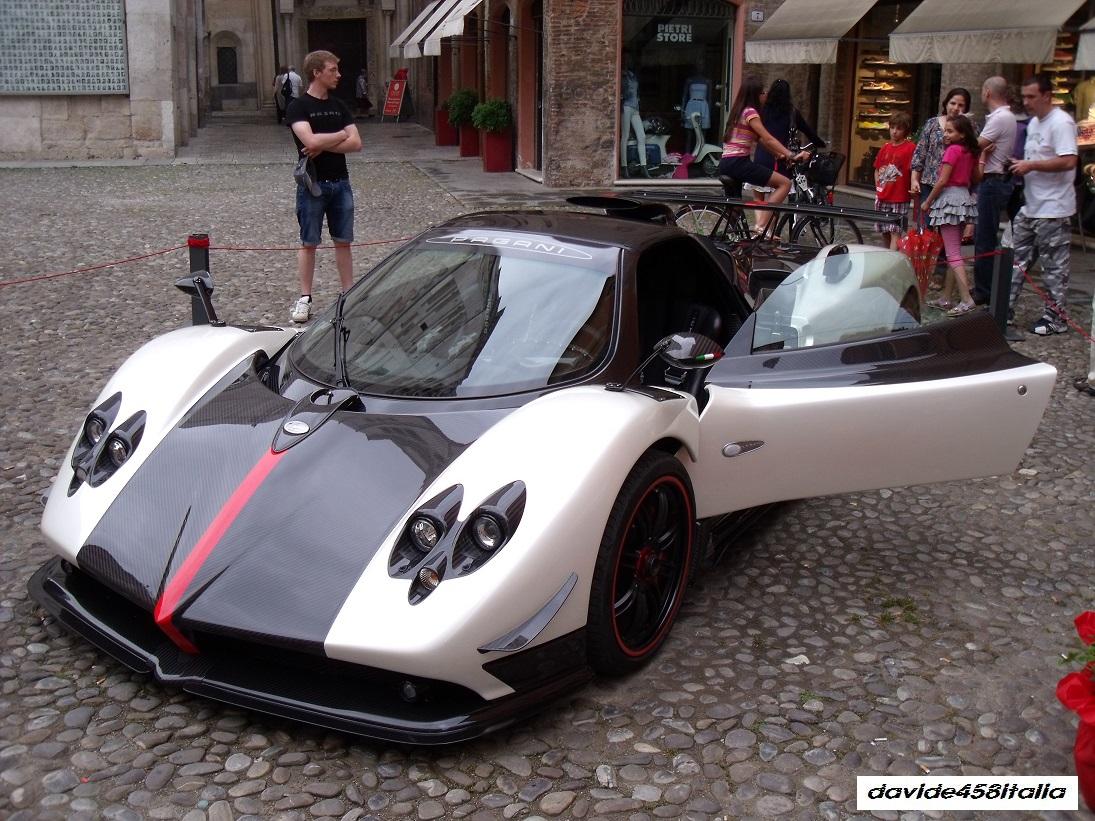 Davide458italia Pagani Zonda Cinque Roadster Photos