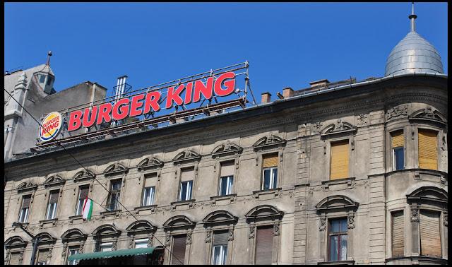Burger King à Budapest Baross tér