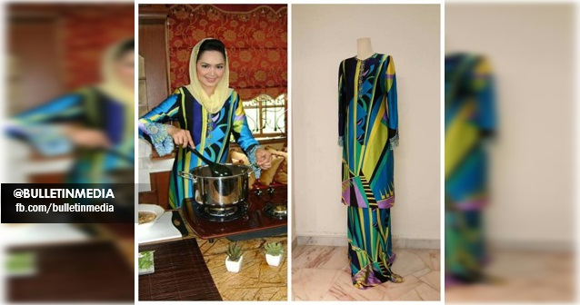 15 FOTO: Wow ! Dato Siti Lelong Bajunya Yg Super Vogue ! Serendah RM100 Je ! Cantik Gila !