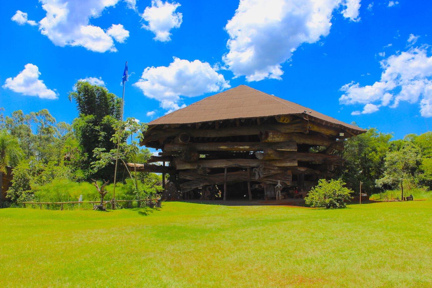 la aripuca wooden structure