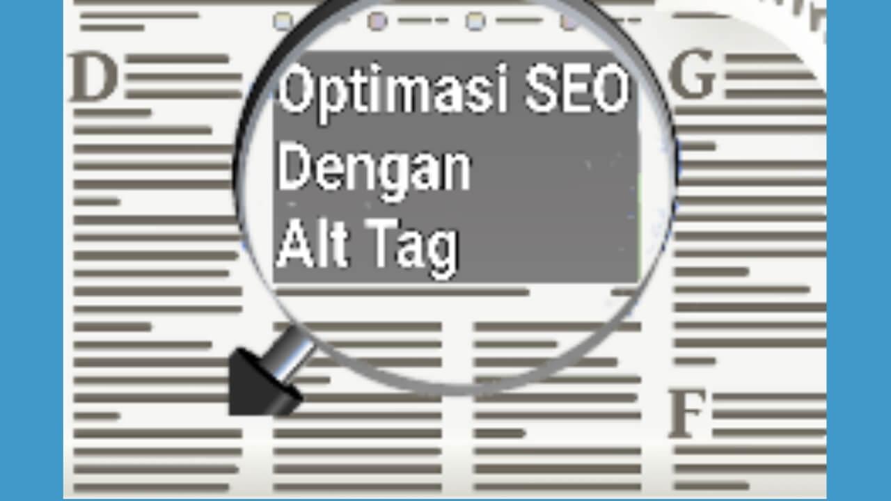 Optimasi gambar SEO dengan menambahkan Alt Tag