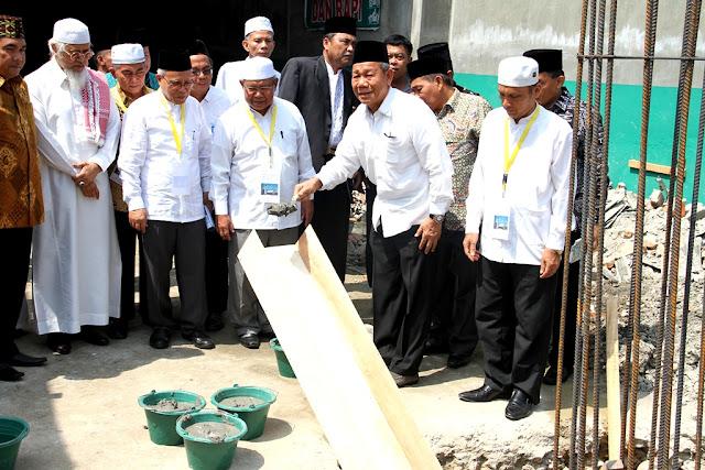 Pemko Menyambut Baik Pembangunan Masjid Jami