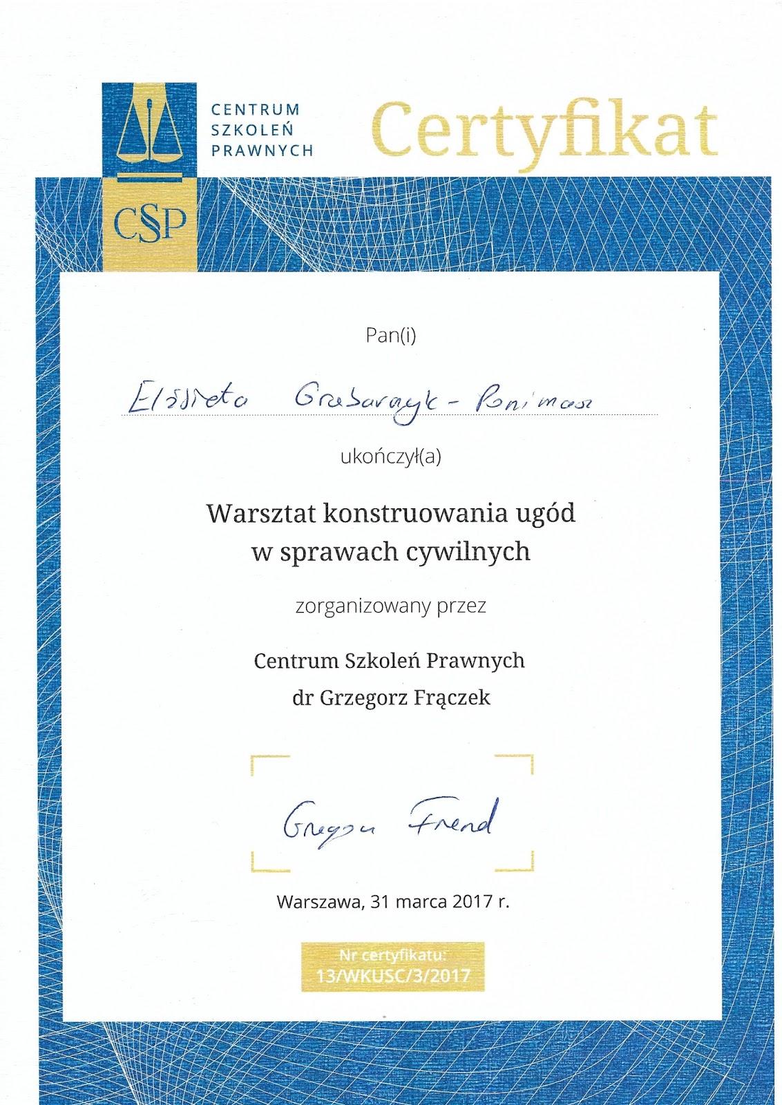 Dobry psycholog Warszawa - mediator - konstruowanie ugód