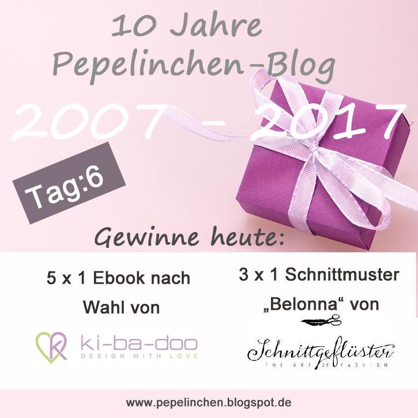 Blog-Jubiläum: 10 Jahre Pepelinchen-Blog / Tag 6: Nähen für Frauen ...