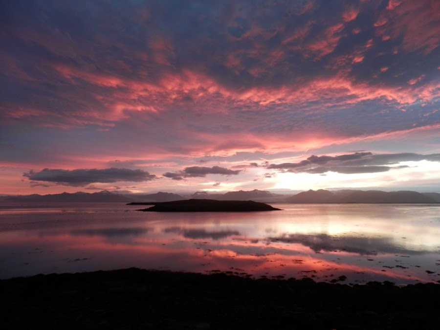 puesta-sol-hofn-iceland-islandia