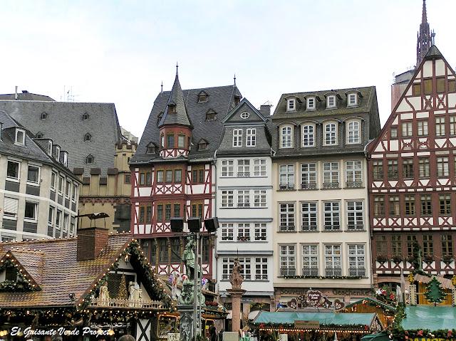 Mercados de Navidad en Frankfurt por El Guisante Verde Project